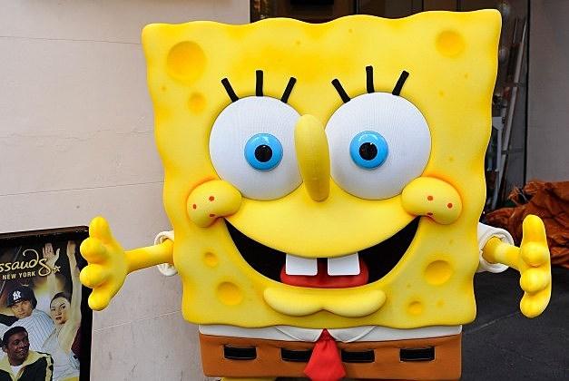 SpongeBob Squarepants the model for military veteran's tombstone