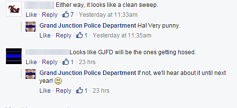 GJPD vs GJFD Broomball