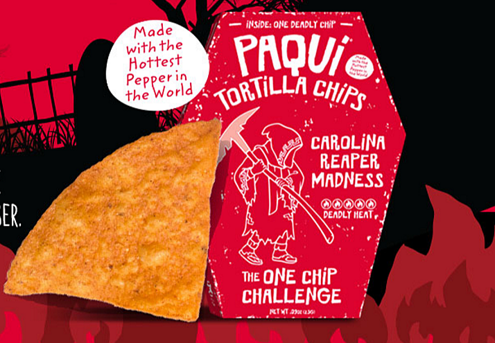 I'm Going to Eat the Hottest Tortilla Chip Around, Wish Me Luck