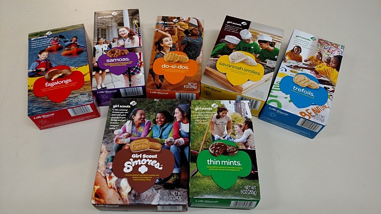 Girl Scout Cookie Sale 2017