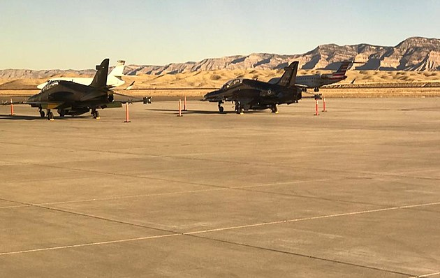 Canadian Jets at Grand Junction Regional Airport