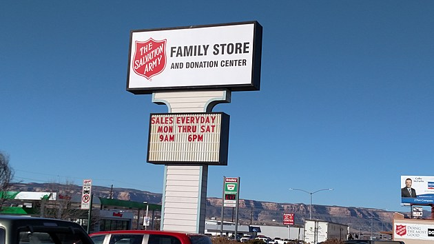 Salvation Army Thrift Store in Grand Junction