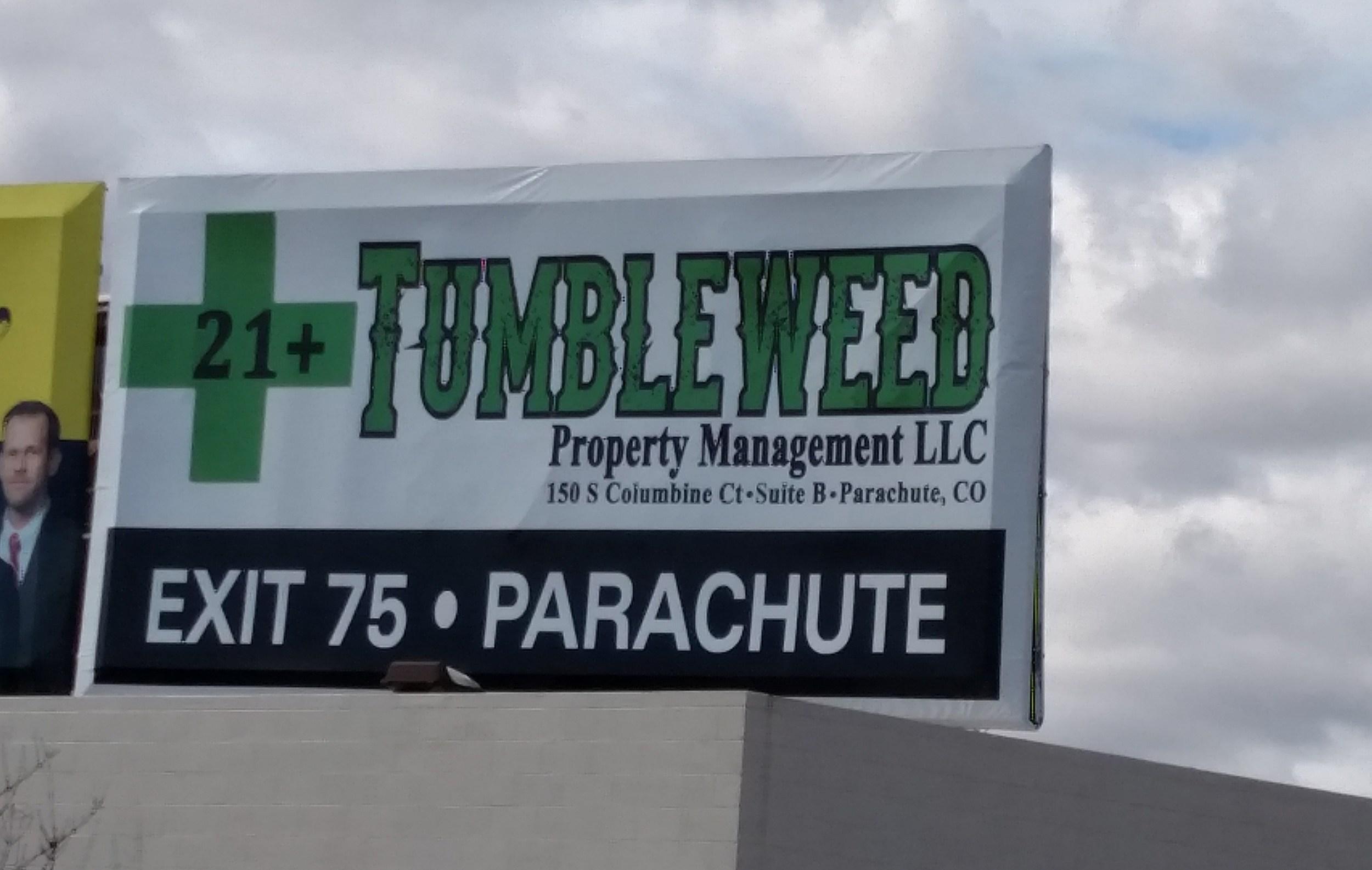 Tumbleweed in Parachute