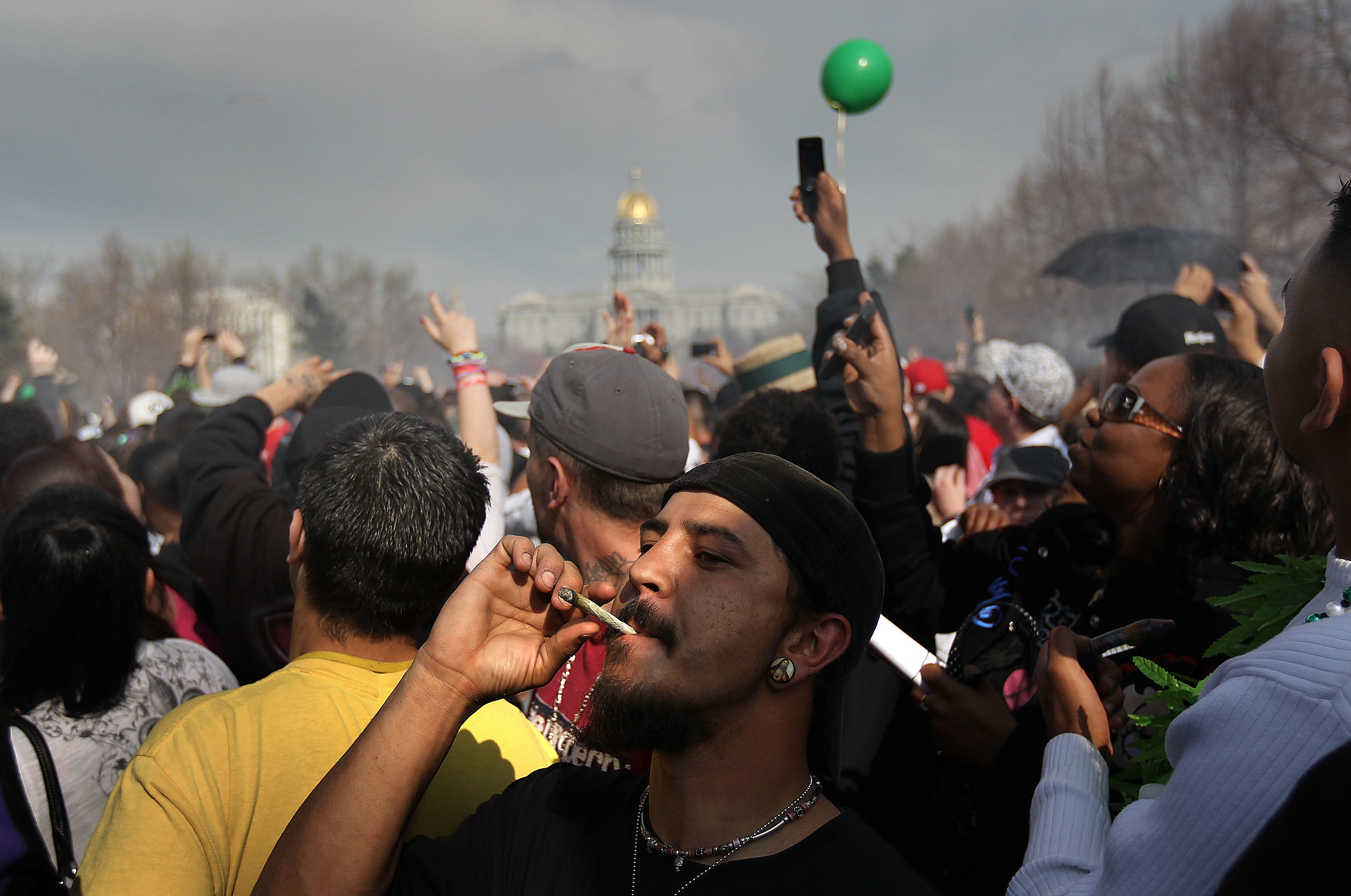 Denver marijuana celebration