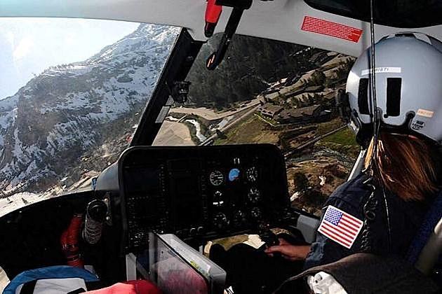 Care Flight Cockpit View