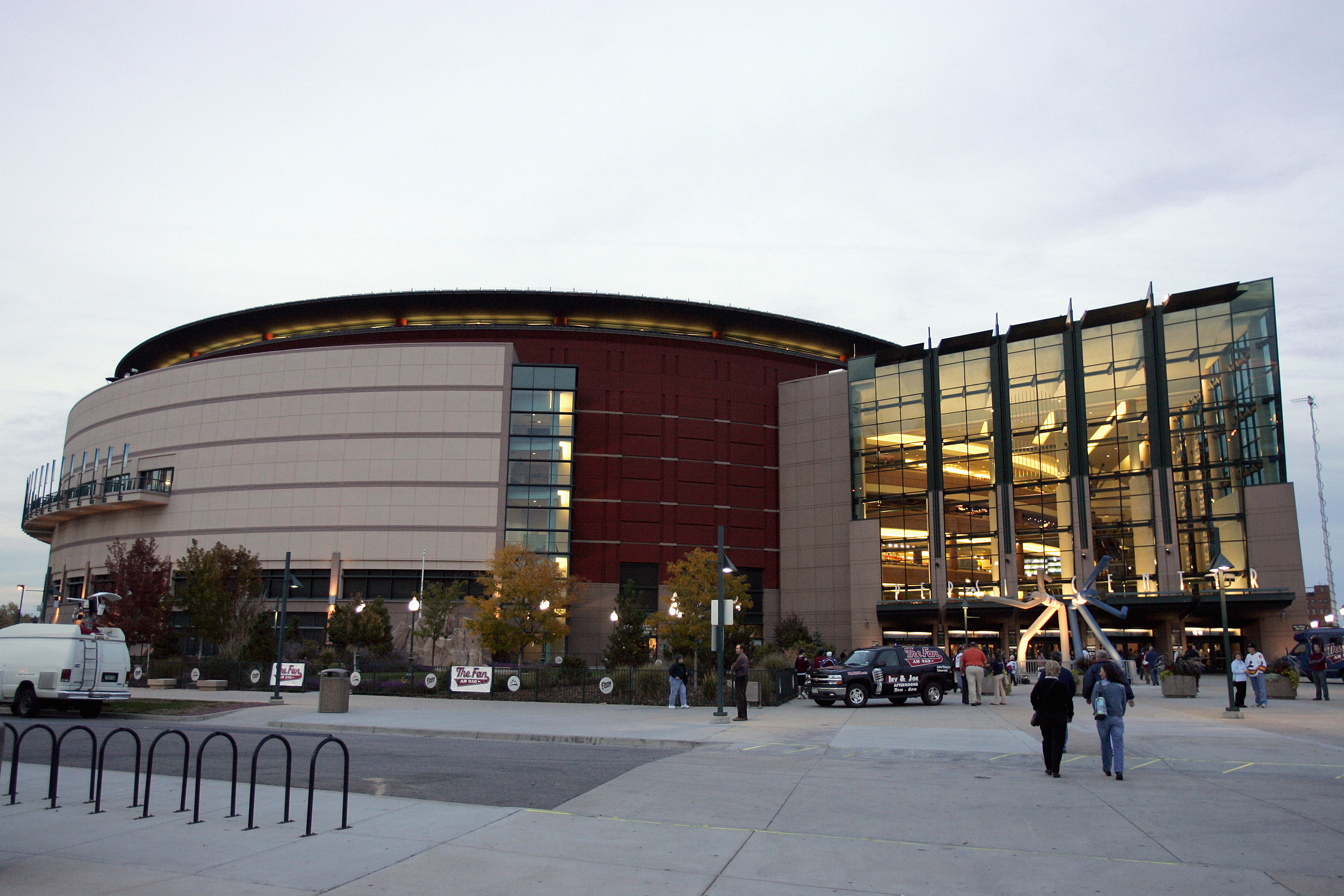 Pepsi Center in Denver
