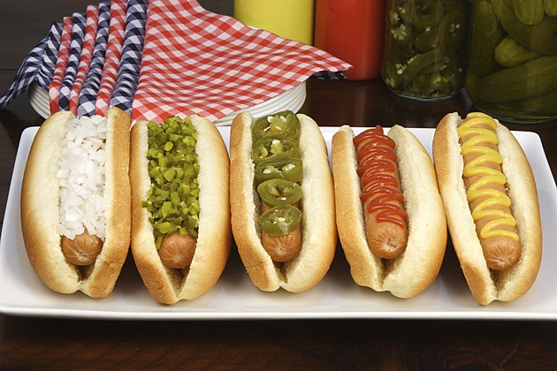 Delicious hot dogs