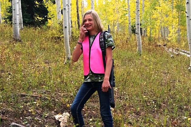 pink hunting vest